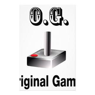 O.G. Original Gamer Stationery