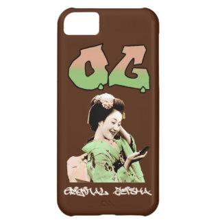 O.G. Teléfono original de la parrilla del geisha Funda Para iPhone 5C