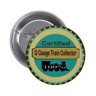 O Gauge Train Collector Pin
