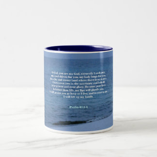 O God, You are my God Two-Tone Coffee Mug
