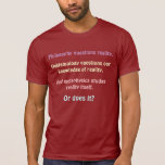 ¿O hace? Camisetas