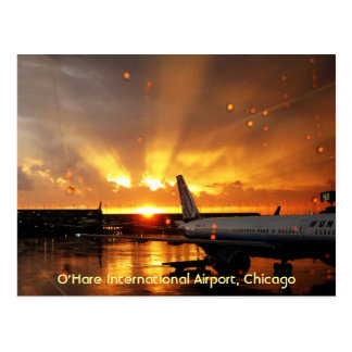 O Hare International Airport Chicago Postcard
