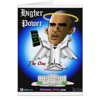 O Higher Power Greeting Card
