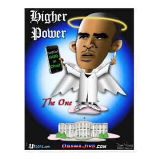 O Higher Power Postcard