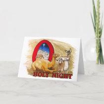 O Holy Night blank Holiday Card