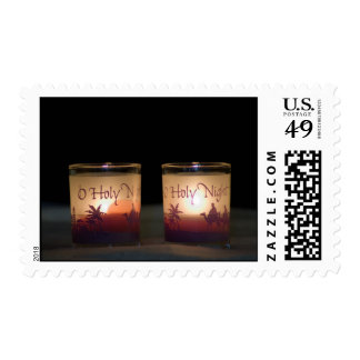 O Holy NIght Candles Postage