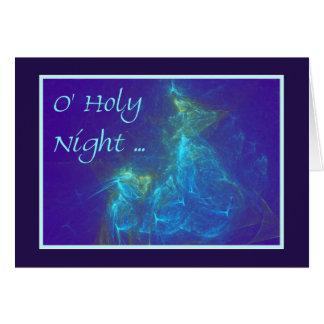 O HOLY NIGHT CARD