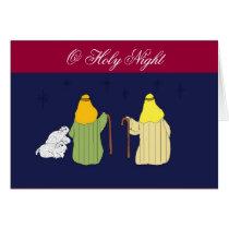 O Holy Night - Christmas Card