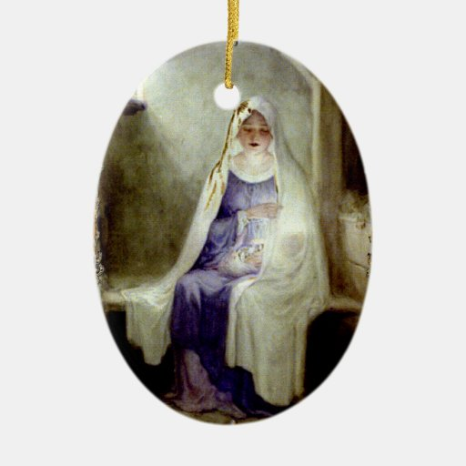 O Holy Night Madonna & Child Ornament