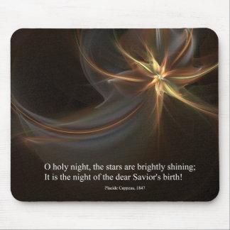 O Holy Night Mouse Pad