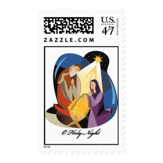 O Holy Night Postage Stamp