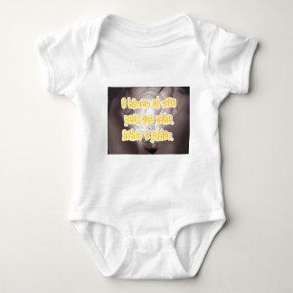 O homem so[o vale pelo que sabe. Saber é poder. Baby Bodysuit