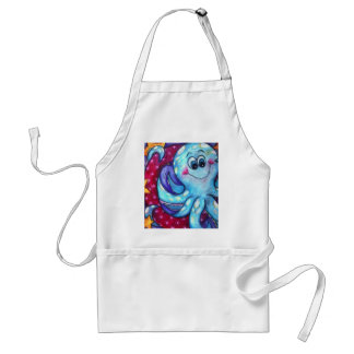 O is for Octopus Adult Apron