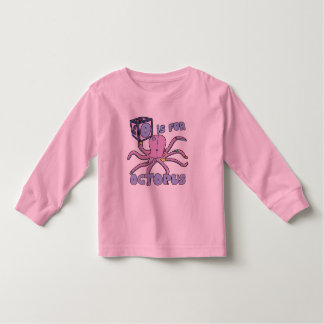 O is for Octopus Toddler T-Shirt