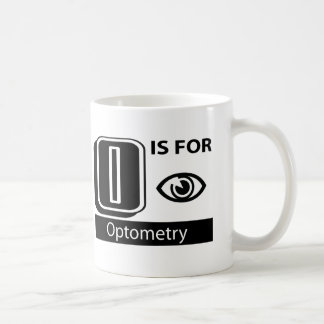 O Is For Optometry Coffee Mug