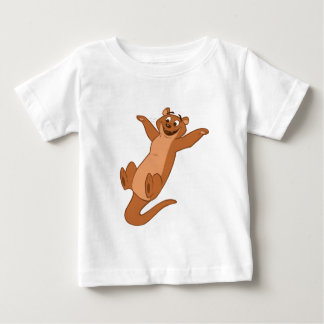 O is for Otter Baby T-Shirt