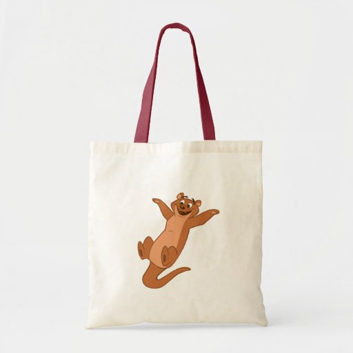 O is for Otter Canvas Bag