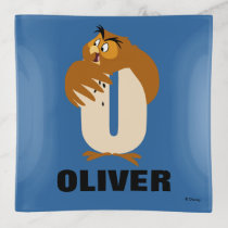 O is for Owl | Add Your Name Trinket Trays
