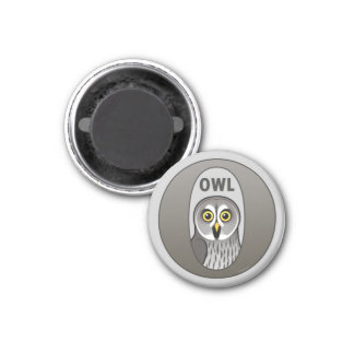 O is for Owl Magnet