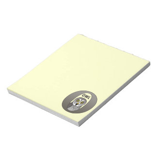 O is for Owl Memo Note Pads
