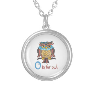 O IS FOR OWL CUSTOM NECKLACE