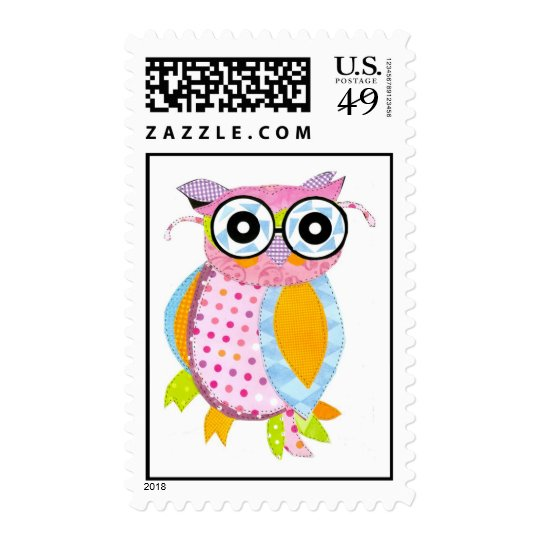 O is for Owl Postage
