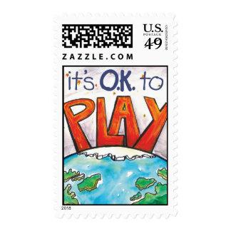 O.K. to Play Postage Stamp