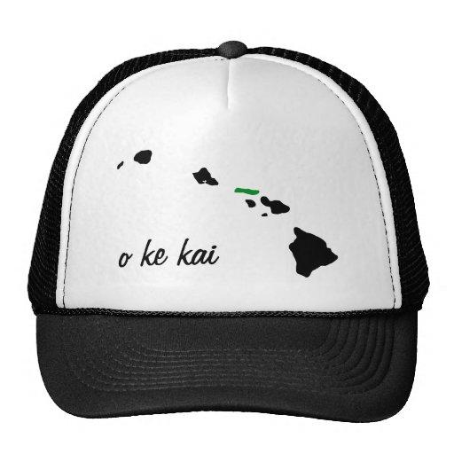o ke kai Moloka'i Trucker Hat
