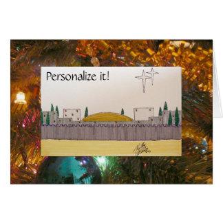 O Little Town of Bethlehem Card