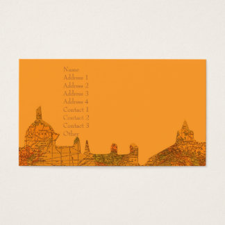 O Little Town of Bethlehem Christmas Business Card