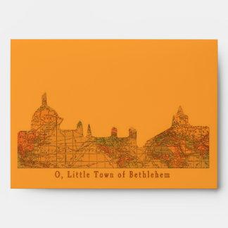O Little Town of Bethlehem Christmas Envelope