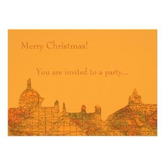 O Little Town of Bethlehem Custom Invitation