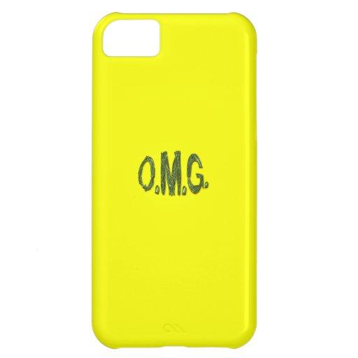 O.M.G. Caja retra amarilla soleada del iPhone de F