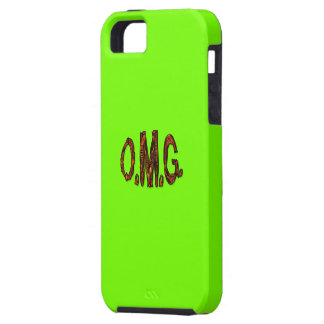 O.M.G. Fluoro Lime-Green iPhone Case iPhone 5 Case