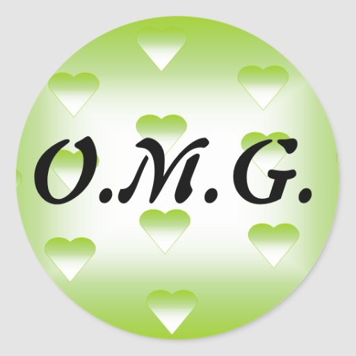 O.M.G. Sticker