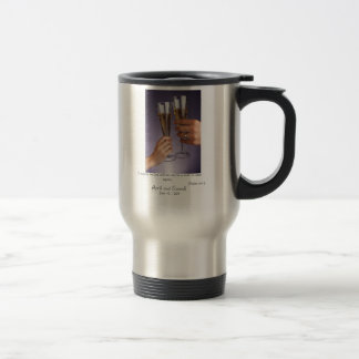 O magnify the Lord with me 15 Oz Stainless Steel Travel Mug