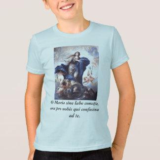 O Maria sine labe concepta, ora pro nobis T-Shirt