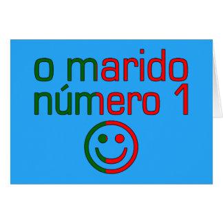 O Marido Número 1 - Number 1 Husband in Portuguese Greeting Card