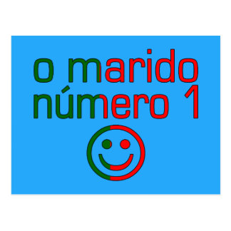 O Marido Número 1 - Number 1 Husband in Portuguese Postcard