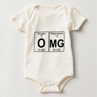 O-Mg (omg) - Full Baby Bodysuit