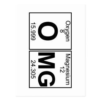 O-Mg (omg) - Full Postcard