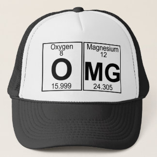 O-Mg (omg) - Full Trucker Hat