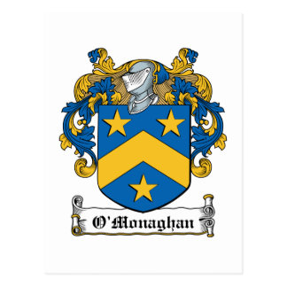 O Monaghan Family Crest Post Card