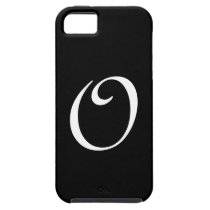 O Monogram Black IPhone 5 Case