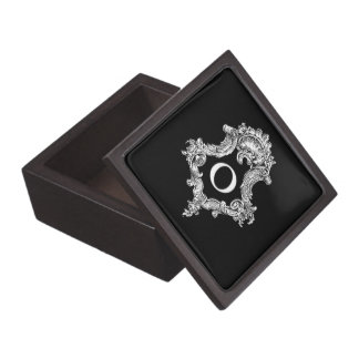 O Monogram Initial Jewelry Box