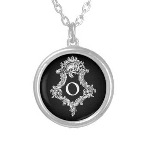 O Monogram Initial Necklaces