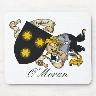 O Moran Family Crest Mouse Mats