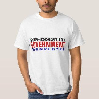 O.N.U-Empleado no esencial del gobierno Playera