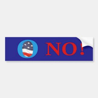 O ningunas camisetas de Obama Etiqueta De Parachoque