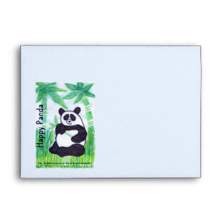 O.O. Happy Panda Envelope